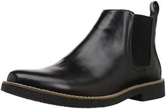 Deer Stags Men's Rockland Memory Foam Dress Casual Comfort Chelsea Boot Black
