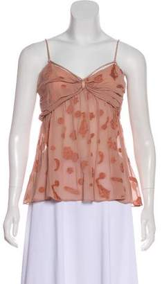 Stella McCartney Sleeveless Silk Top w/ Tags