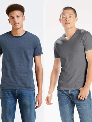 Levi's Slim Fit Crewneck Tee Shirt (2-pack) T-Shirt