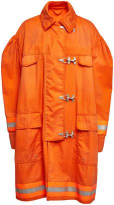 Calvin Klein Fireman Coat with Cotton
