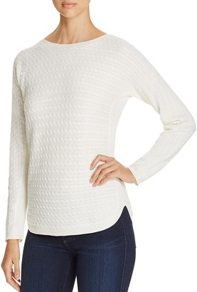 Foxcroft Baby Cable-Knit Sweater $79 thestylecure.com