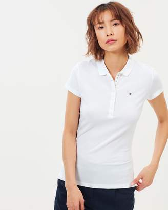 5e4fa1aa Tommy Hilfiger White Polo Shirts For Women - ShopStyle Australia