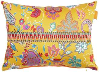 Etro Mijas Cotton & Linen Pillow With Band