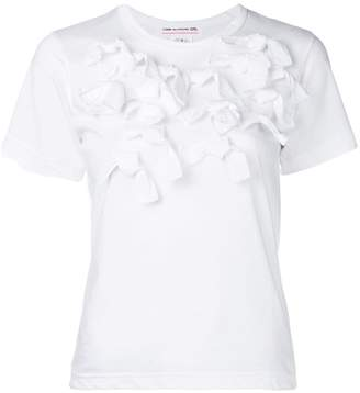 Comme des Garcons ruffles T-shirt