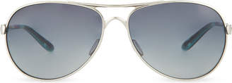 Oakley Chrome aviator sunglasses
