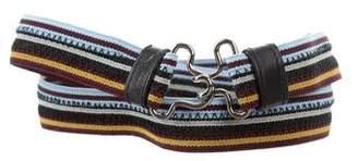 Prada Canvas Waist Belt