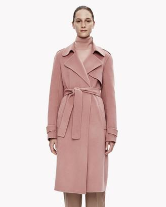 Double-Face Wool-Cashmere Trench Coat $795 thestylecure.com