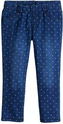 Osh Kosh Baby Girl Jumping Beans Polka-Dot Jeggings