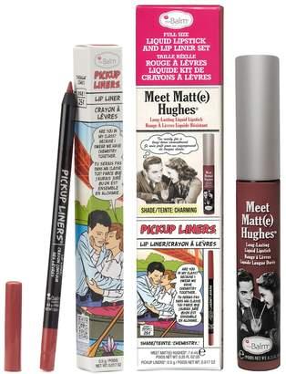 TheBalm Meet Matt(e) Hughes Liquid Lipstick & Lip Liner Set