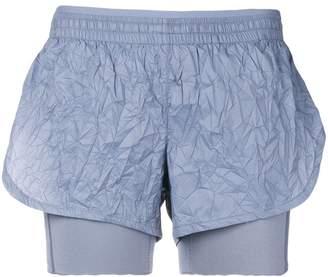 Nike crinkle runner shorts