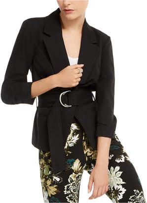INC International Concepts Inc Belted Jacket