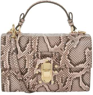 Dolce & Gabbana Python Lucia Shoulder Bag