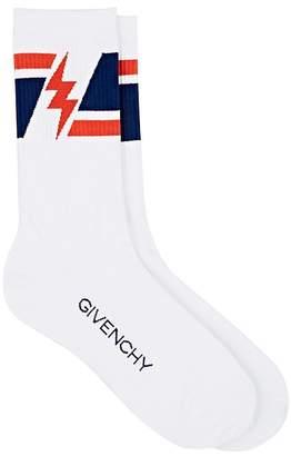 Givenchy Men's Cotton-Blend Ankle Socks