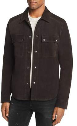 Belstaff Malyon Suede Shirt Jacket