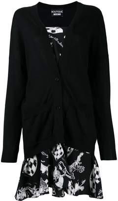 Moschino cardigan short dress
