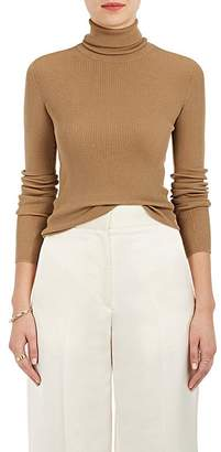 Nina Ricci WOMEN'S CUTOUT RIB-KNIT WOOL TURTLENECK SWEATER
