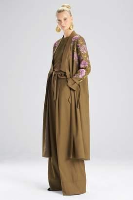 Josie Natori Clothing Stretch Twill Jacket