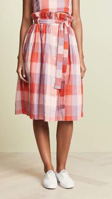 ENGLISH FACTORY Checkered Skirt