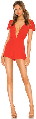 superdown Libby Deep V Romper