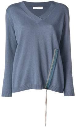 Fabiana Filippi zipped sweater