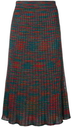 M Missoni patterned midi skirt