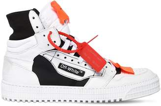 Off-White Off White Off Court Leather High Top Sneakers