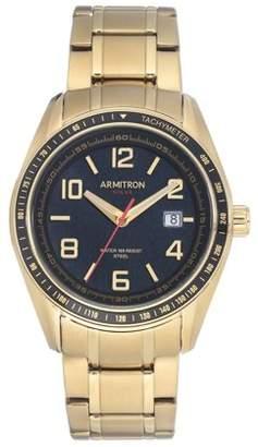 Armitron Mens Dress Gold SOLAR Watch