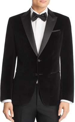HUGO BOSS HUGO Helward Velvet with Satin Lapel Slim Fit Tuxedo Jacket