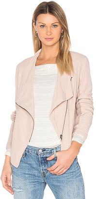 BB Dakota Kenrick Jacket in Blush $350 thestylecure.com