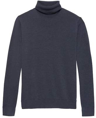 Banana Republic Extra-Fine Italian Merino Wool Turtleneck