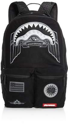 Sprayground Ghost Shark Patch Backpack