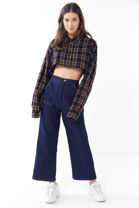 Urban Renewal Vintage Remnants Contrast Stitch Utility Jean