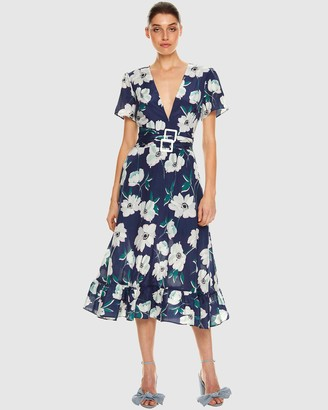 Talulah Full Bloom Midi Dress