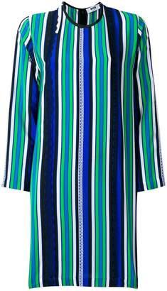 MSGM striped panel dress