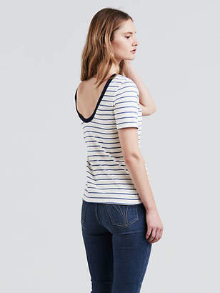 Levi's Back Scoop Tee T-Shirt