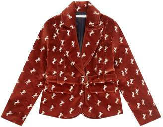 Chloé Velvet Horse Jacket