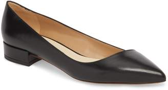 Francesco Russo Asymmetric Pointy Toe Flat