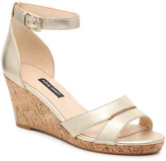 4a8639bda Nine West Gold Women's Sandals - ShopStyle