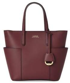 Lauren Ralph Lauren Mini Leather Tote