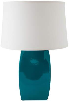 Asstd National Brand RiverCeramic Soft Rectangle Table Lamp