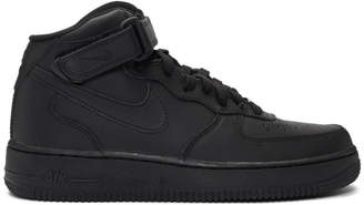 3b9704d5aca Nike Black Air Force 1 High 07 Sneakers
