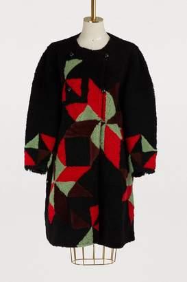 Isabel Marant Aban shearling coat