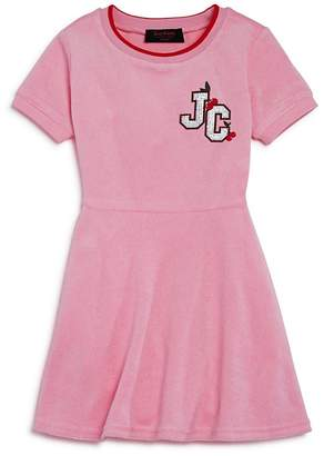 Juicy Couture Black Label Girls' Cherry Grove Terry Dress - Little Kid