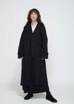 Yohji Yamamoto Y's by Back Belt Coat