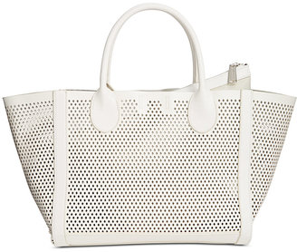 Steve Madden Bperfie Perforated Tote $88 thestylecure.com