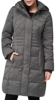 Precis Petite Petite Fifi Faux Fur-Trimmed Down Coat