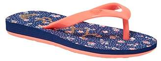 Roxy Girls' Tw Bamboo II K Flip-Flop Sandals Multicolour Size: