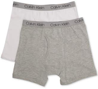 Calvin Klein Toddler Boys 2-Pk. Cotton Boxer-Briefs