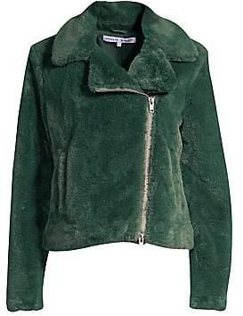 Rebecca Minkoff Women's Henderson Faux Fur Jacket