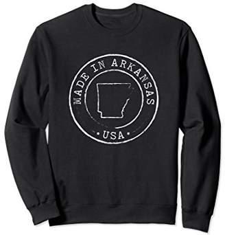 AR+ Made in Arkansas Sweatshirt State AR Vintage Pullover Gift